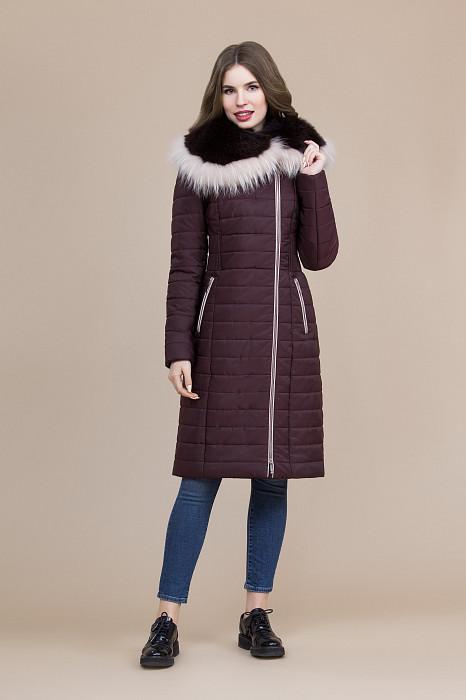3b4f195c313 Купить зимнее пальто женское с капюшоном в интернет-магазине Элема